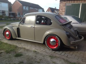 VW bug sti side view