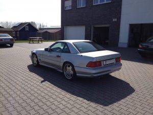 Mercedes SL 70 AMG 4