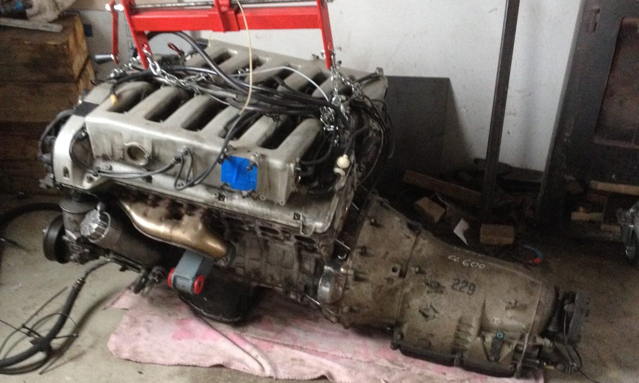 190 v12 engine and transmission