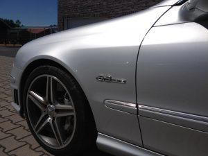 Mercedes CLK63 AMG 3