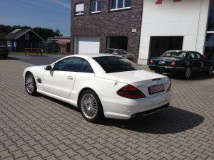 Mercedes SL55 AMG 6