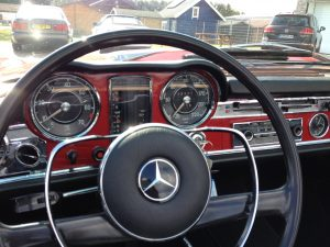 Mercedes SL 280 Pagode 5