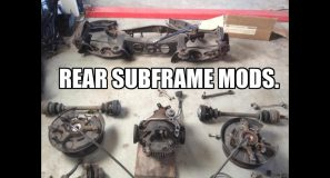 190 V12 Rear Subframe