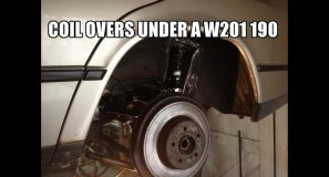W201 Subframe and suspension mods
