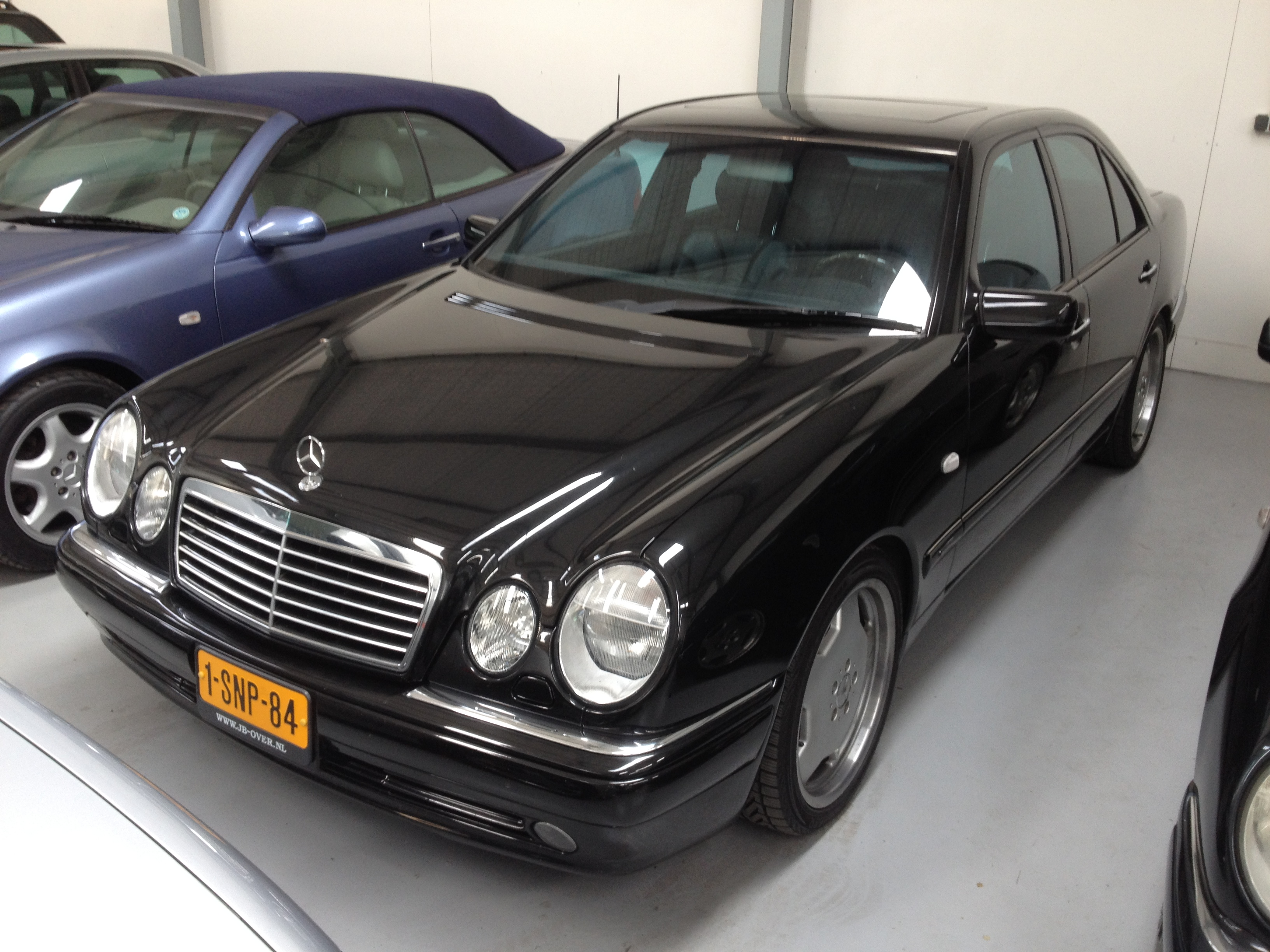 Pure German muscle  1998 Mercedes E55 AMG Review ...