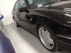 Mercedes E55 AMG 1