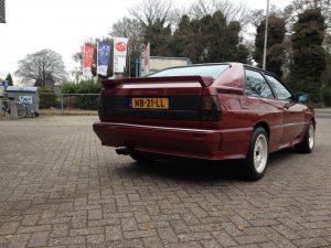 Audi UrQuattro 2.1 10V Turbo 1