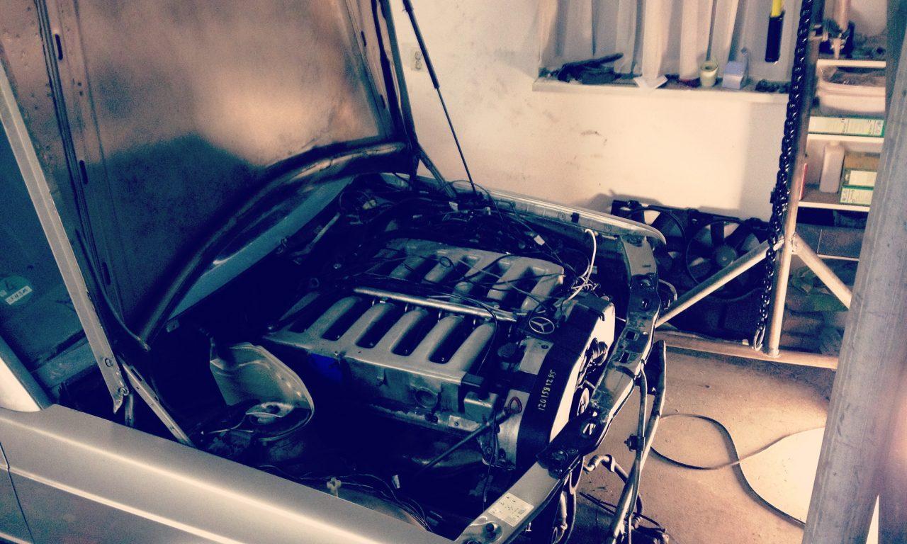 190 V12 project Engine mounts done