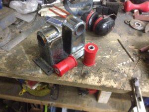 190 V12 project Engine mounts done 3