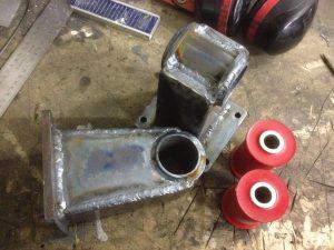 190 V12 project Engine mounts done 4