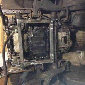 190 V12 project Engine mounts done 7