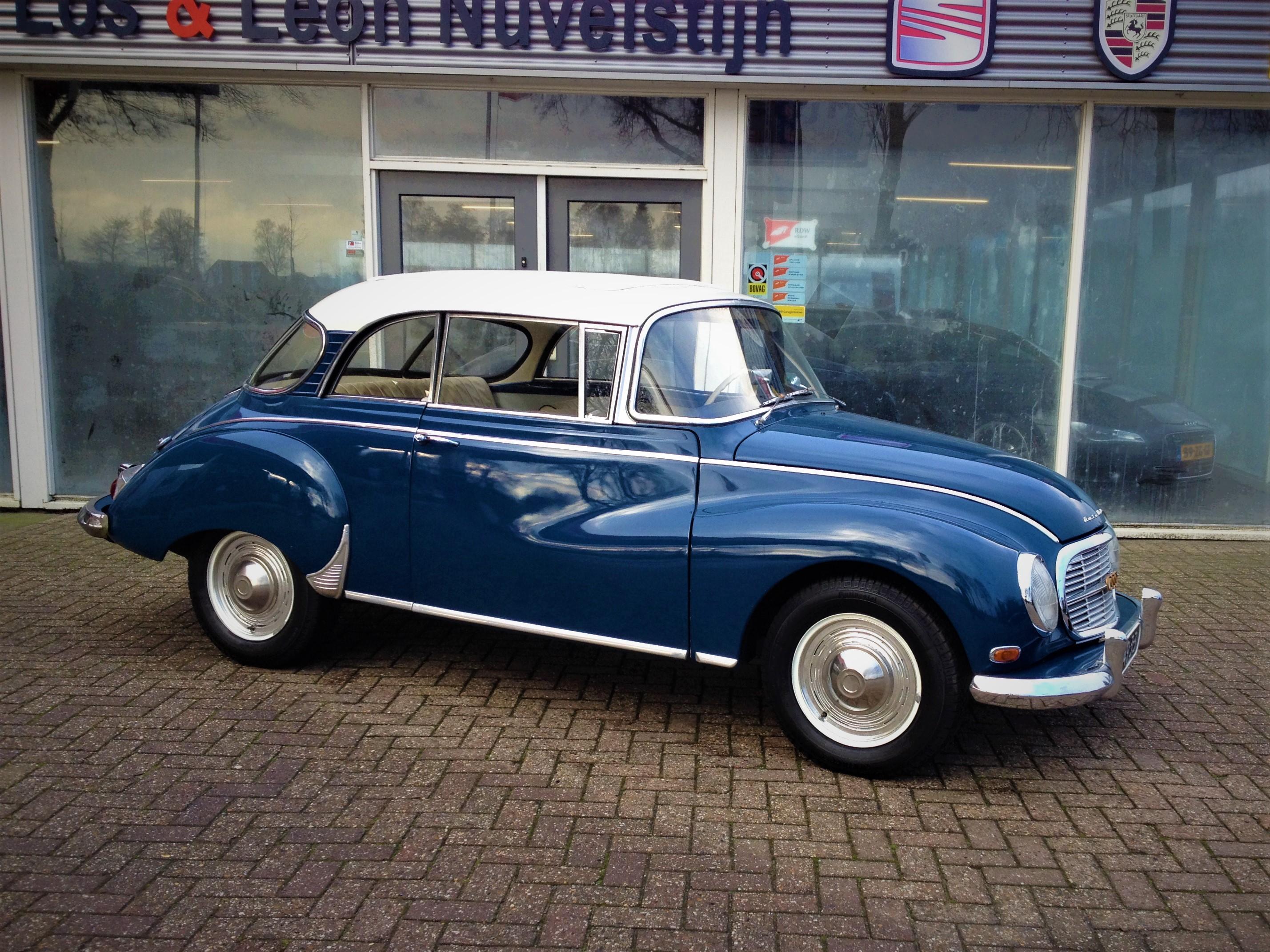 auto union dkw 1000s super de luxe review and testdrive