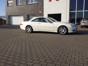 Mercedes CL55 AMG 3
