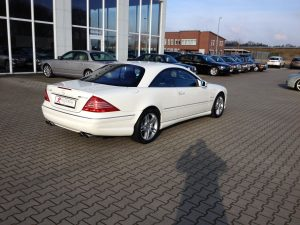 Mercedes CL55 AMG 4