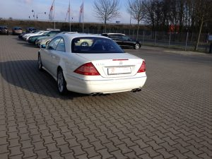 Mercedes CL55 AMG 5