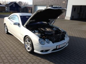 Mercedes CL55 AMG 11