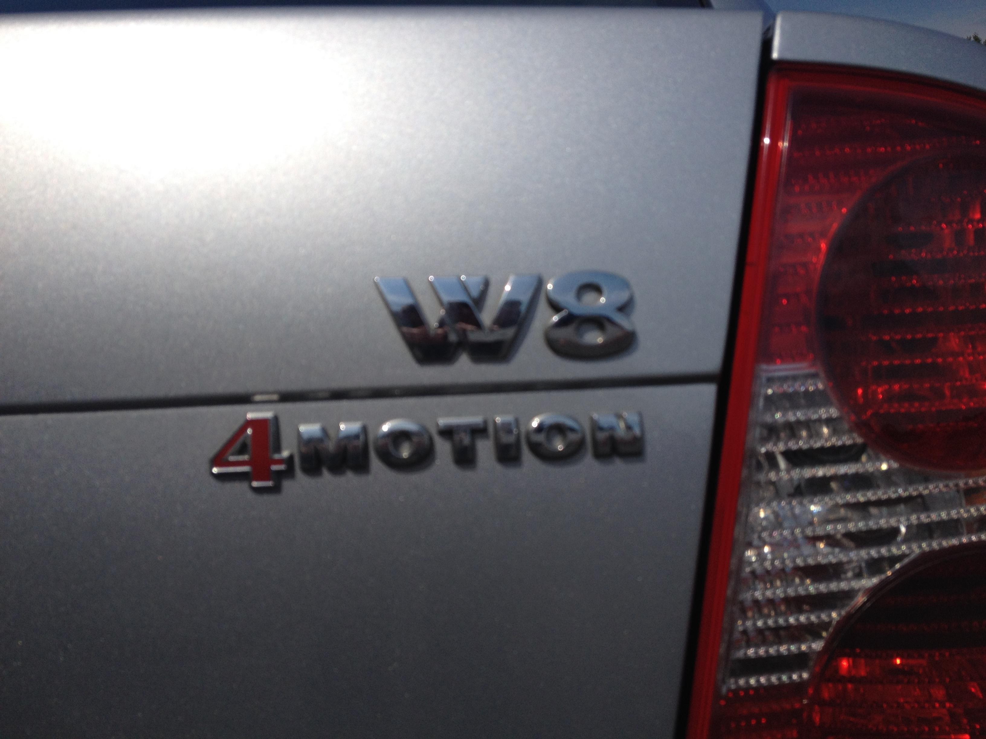 VW Passat W8 B5.5 5