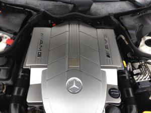 Mercedes C55 AMG 8
