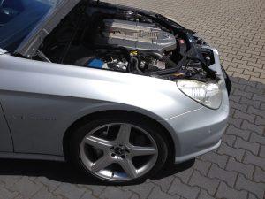 POV Mercedes CLS55 AMG 10