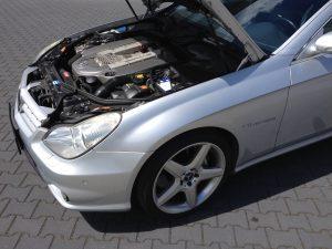 POV Mercedes CLS55 AMG 8