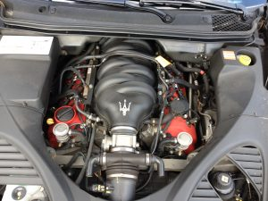 Maserati quattroporte GTS 5