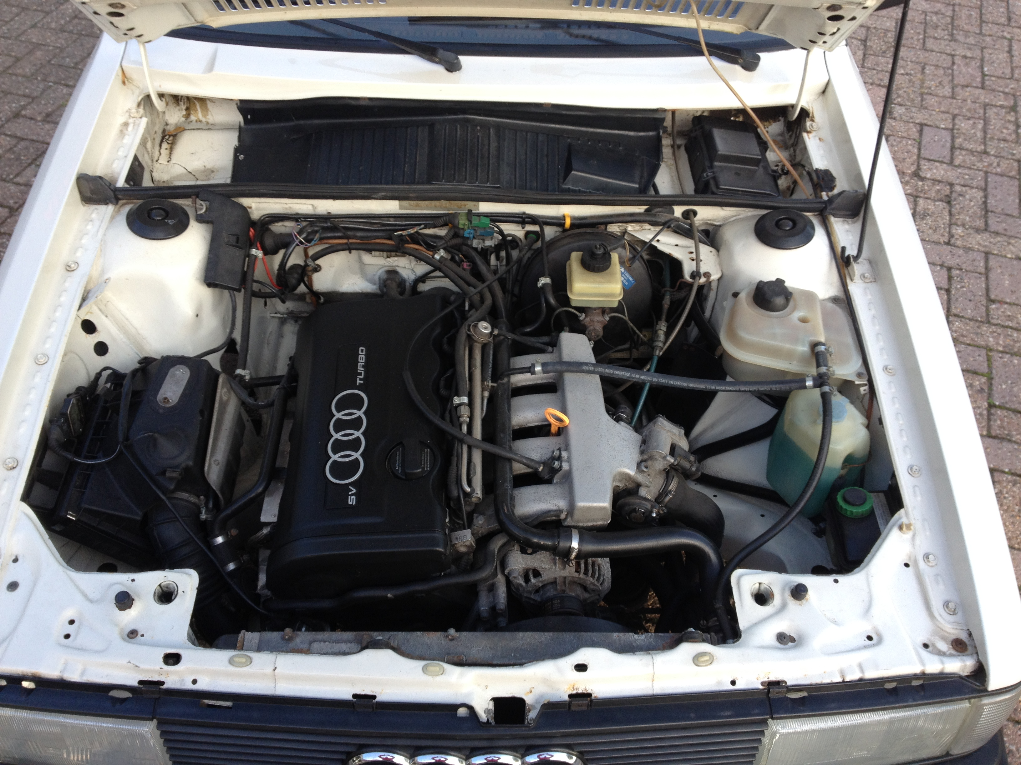 Audi 80 B2 1 8 20V turbo engine swap olschool tuning JMSpeedshop com