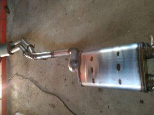 Welding the Custom Exhaust 190 v12 1