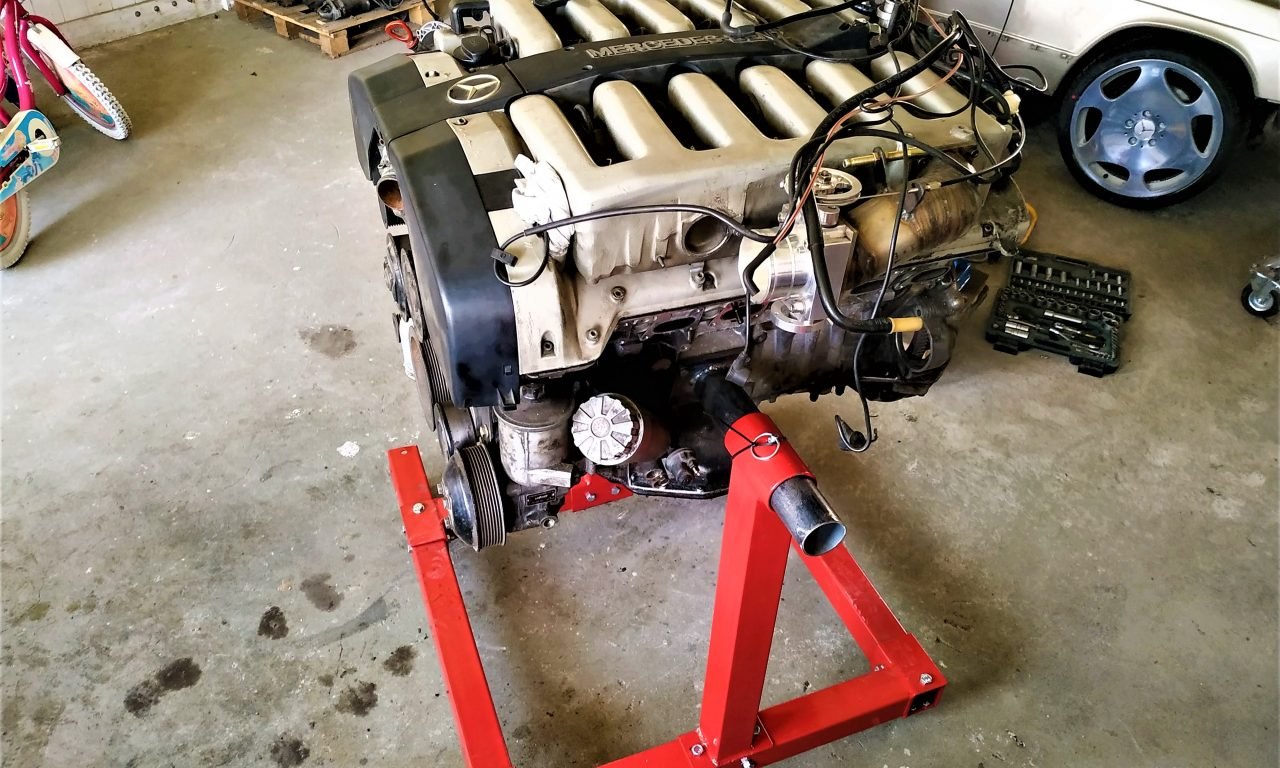 i got the M120 V12 on engine stand