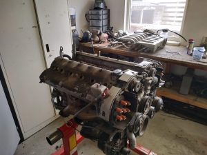 V12 Top engine gasket overhaul 4