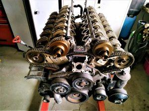 V12 Top engine gasket overhaul
