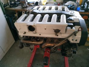 190 V12 top engine assembly part 2 9