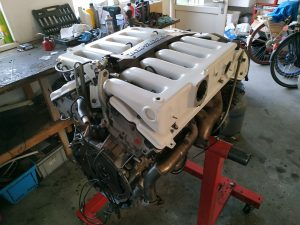 190 V12 top engine assembly part 2 10