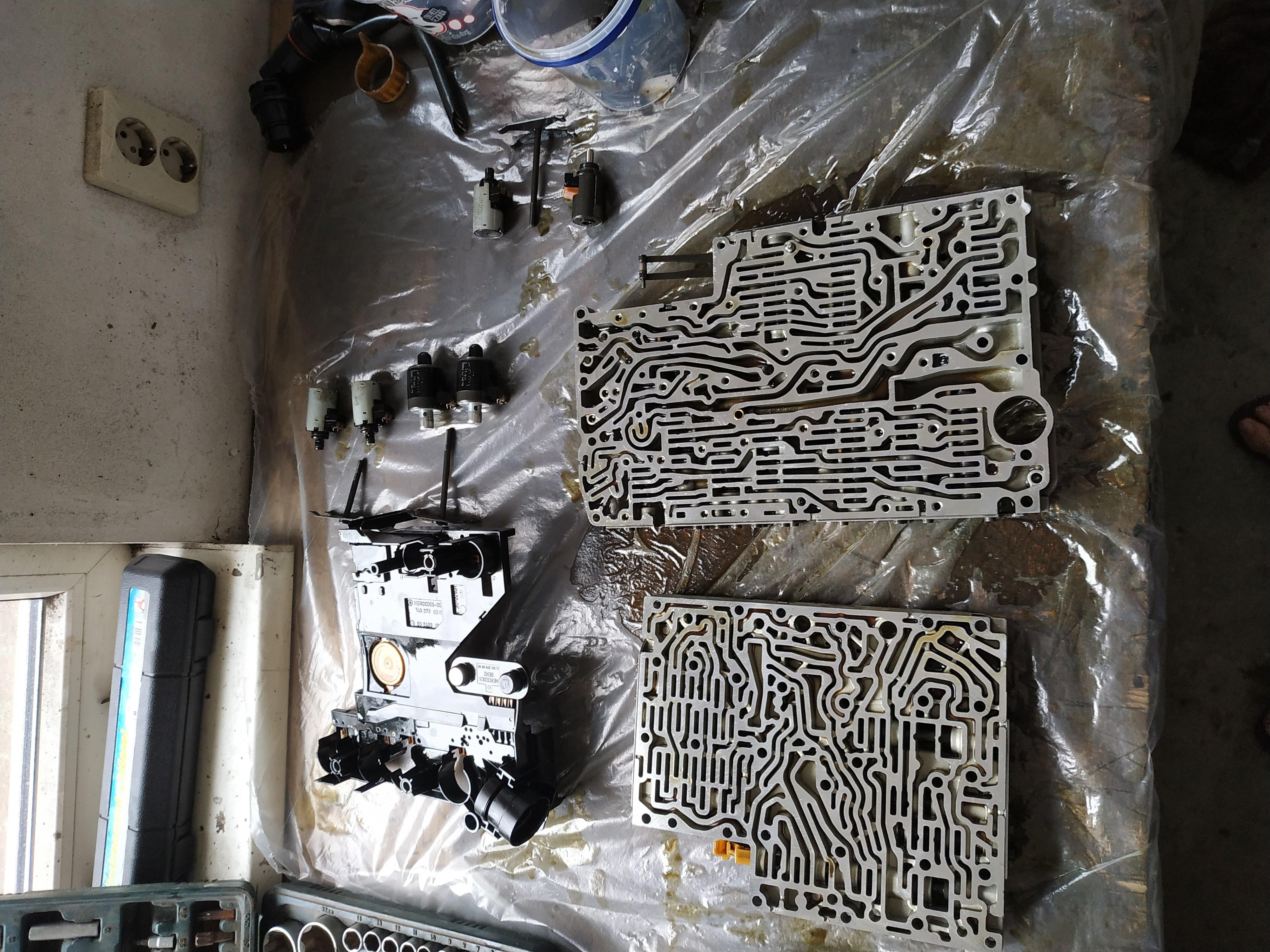 722 6 valve body inspections and leak repairs - JMSpeedshop !