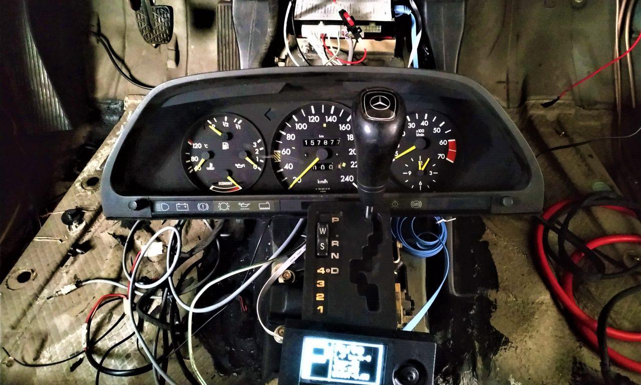 722 6 shifter repair, OFgear TCU installation, External
