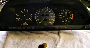 W126 Speedometer Gear repair