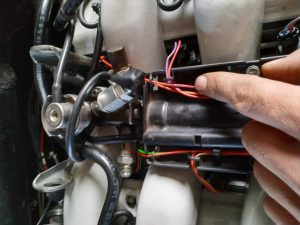 Making an engine wiring harness for the W201 V12 18