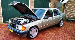 Getting w201 V12 street legal 5