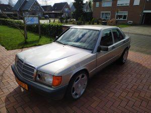 Mercedes 190 V12 First Street Legal Drive 1