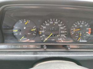 Mercedes 190 V12 0-100kph timing + sound clips
