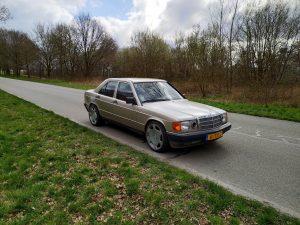 Mercedes 190 V12 0-100kph timing + sound clips 6