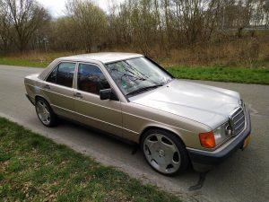 Mercedes 190 V12 0-100kph timing + sound clips 7