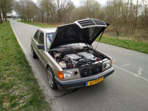 Mercedes 190 V12 0-100kph timing + sound clips 13