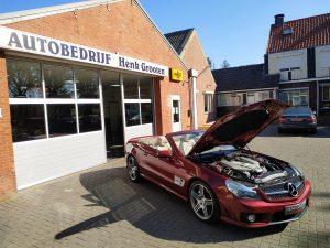 Mercedes SL63 AMG R230 1