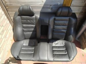 Leder interior restore & color change Mercedes 2.3 16V interior 12