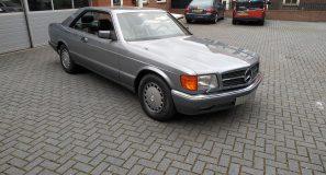 Mercedes 560 SEC 3