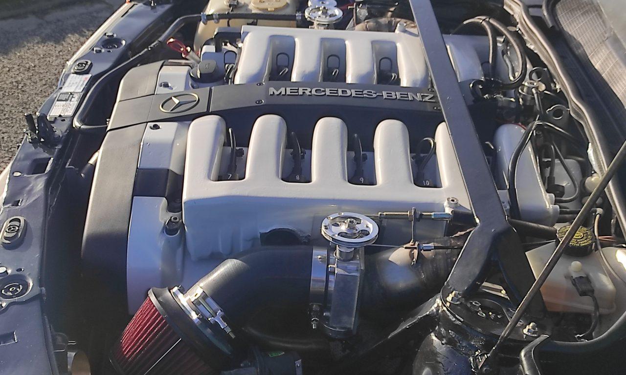 Mercedes 190 V12 Review & Testdrive 8