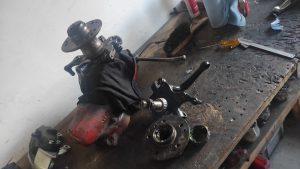 W124 front wheel bearing installation & dust cap failure 7