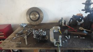 Big Brakes for the S124 V8 turbo