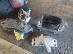 Big Brakes for the S124 V8 turbo 10