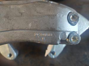 Big Brakes for the S124 V8 turbo 11
